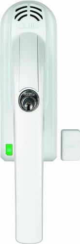 ABUS 568077 Abschließbarer Fenstergriff, FG300A W DINL B/SB, weiß