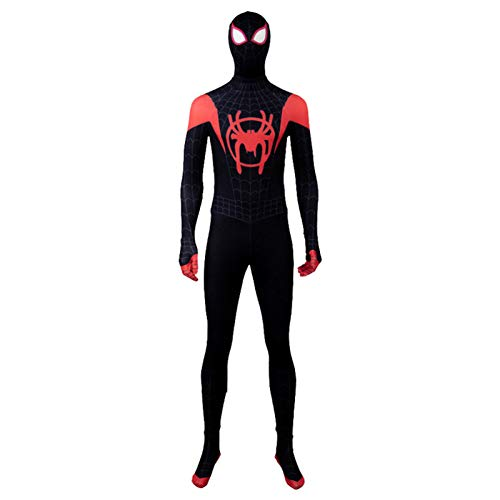 Schwarz Spiderman Kostüm Halloween Cosplay Overall 3D Drucken Fancy Dress Party Requisiten Bodysuit Männer Frauen Kostüm,Women-S