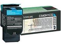 Preisvergleich Produktbild Lexmark Toner Cyan High Capacity Pages 2.500, 0C540H1CG (Pages 2.500)