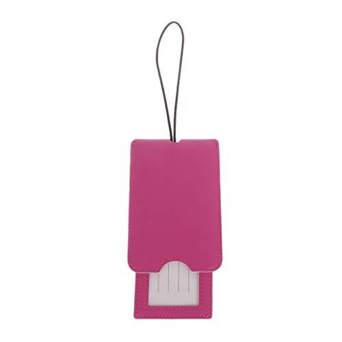 Cansenty Etiquetas de cuero creativas para equipaje, correa, nombre, dirección, equipaje, equipaje...