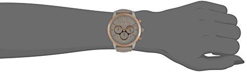 Joop Damen-Armbanduhr Chronograph Quarz Leder JP101522004 (Farbe: Taupe/Roségold)