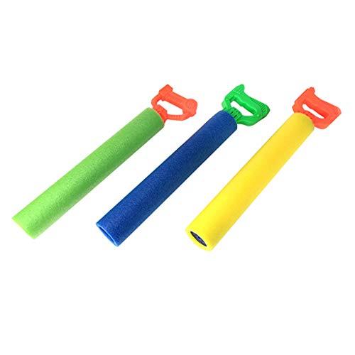HSKB Kinder Wasserpistole Serie Schaum Drawn Water Gun,Sommer Kinderspielzeug Super Soaker Schaum Wasser Blaster Shooter Sommerspaß Freibad Schwimmenbecken 3PC -