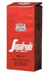 Segafredo Buono Coffee Beans 1 x 1kg
