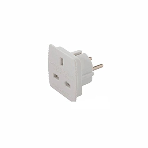 Power Master 171631 - Adaptador de viaje UK (RU) a EU (UE), 220 - 240 V