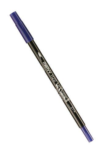 Le Plume Marker (Uchida Marvy Extra feine Spitze Le Plume II Double Ender Marker Pen blau)