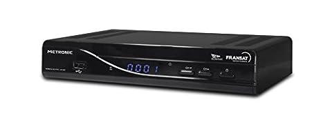 Metronic Terbox Récepteur Terminal Satellite FRANSAT 441667 Tuner Oui (Mpeg4 Full HD) TNT par Satellite