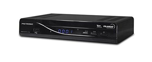 Metronic Terbox Récepteur Terminal Satellite FRANSAT 441667 Tuner Oui (Mpeg4 Full HD) TNT par...