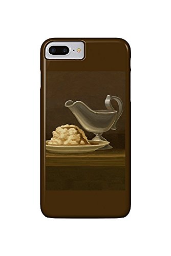 Gravy Boat - Thanksgiving Oil Painting (iPhone 7 Plus Cell Phone Case, Slim Barely There) Natur Gravy Boat