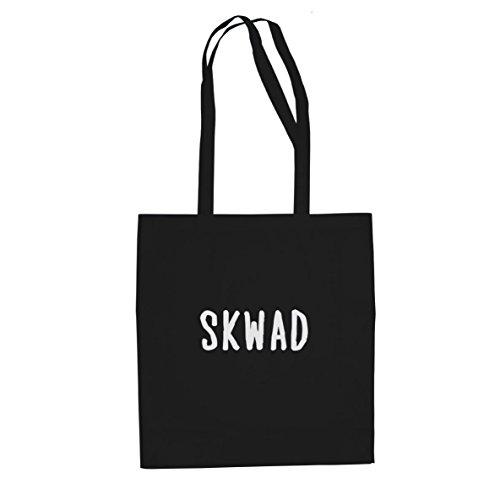 SKWAD Tattoo - Stofftasche / Beutel Schwarz
