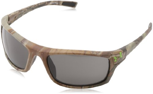 "Under Armour Keepz Satin ""Realtree"" Pattern Frame and (ANSI) Gray Lens"