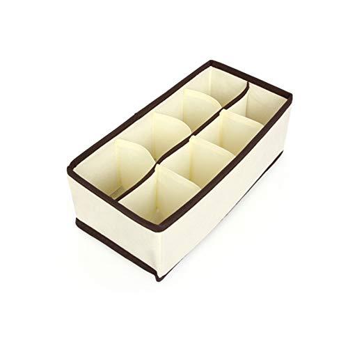 LGDD Aufbewahrungsbox FÜR Unterwäsche Schubladen Stapelbox Klappbox BÜRozubehör Wohnen Aufbewahrungsbox FÜR Socken,BHS Und Krawatten,Faltbox Stoffbox FÜR Schrank (Krawatte Schwimmer)