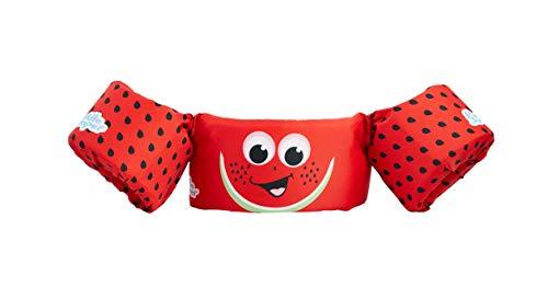 Sevylor Schwimmflügel Puddle Jumper, Schwimmhilfe, Schwimmweste, für Kinder und Kleinkinder von 2-6 Jahre, 15-30kg, Schwimmscheiben, rot, Wassermelone, M