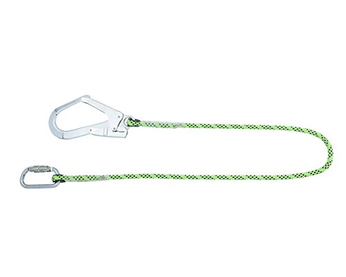 Honeywell 1032340 Miller Restraint Lanyard Kernmantel 1,5M with 1Qt and 1Go55