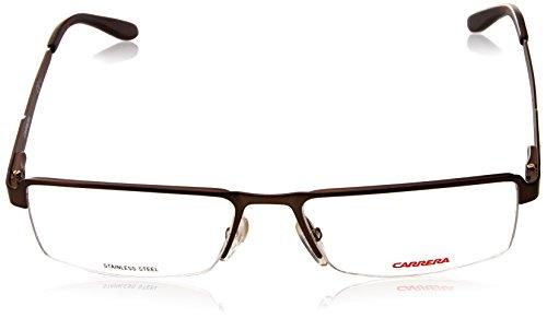 Carrera Montures de lunettes Ca6631 Pour Homme Matte Black Marron métalisé