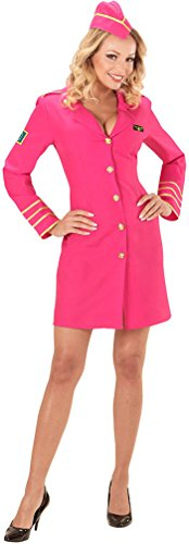 femmes-rose-airline-hostess-deguisement