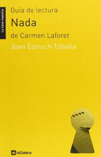 Guía de lectura de 'Nada': de Carmen Laforet (La llave maestra)