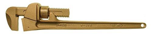 Ampco Safety Tools ET0350A Einhandrohrzange 350 mm, Aluminiumbronze, Antidéflagrant