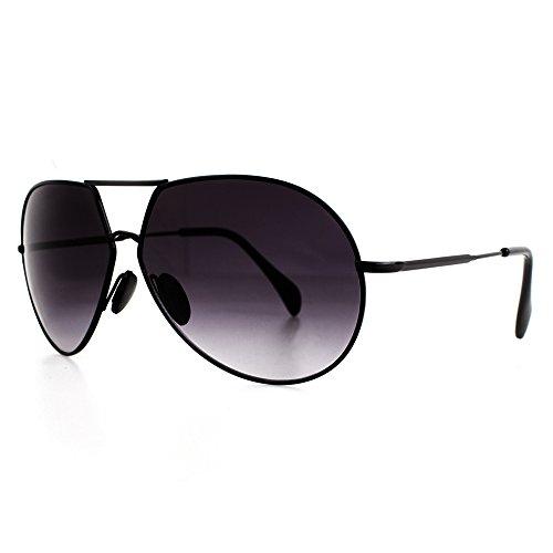 Distressed Shades2Go Aviator Pilotenbrille Piloten Sonnenbrille viele Farben (schwarz-schwarz)