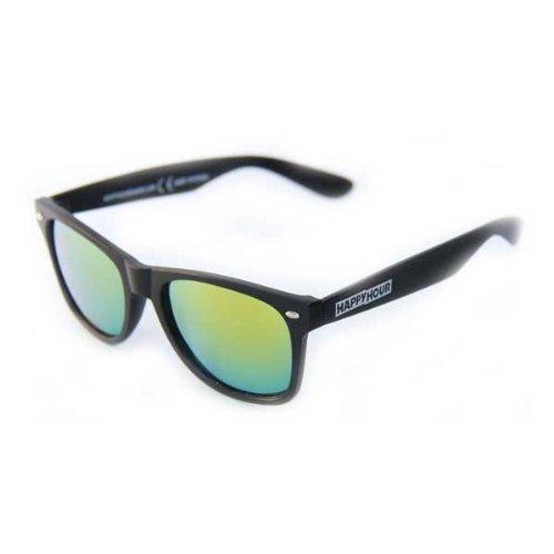 Happy Hour Sonnenbrille Glasses Blacks Beach, Black, One size, HAPGLABLABEA