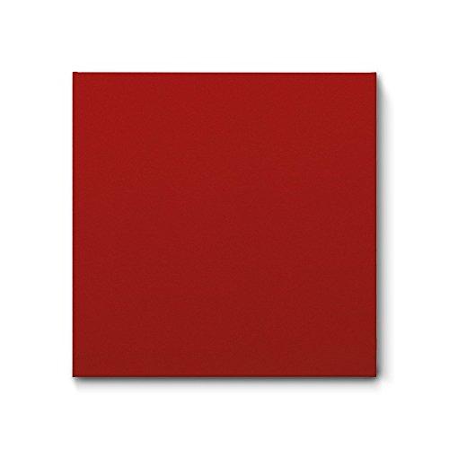 PROFESS Akustikbild mit FILZ-Bezug - verschiedene Farben & Größen ab 50 x 50 cm (70 x 70 x 4 cm, Warmes Rot)