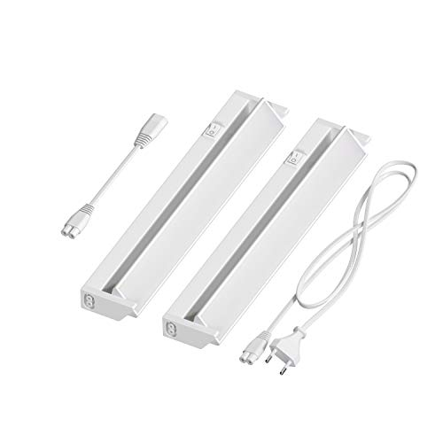 ledscom.de LED Unterbau-Leuchte LIWO 35cm, schwenkbar, 400lm, warmweiß 2er Set -