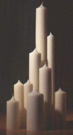 Altarkerzen XXL Kerze 4 x 70 cm