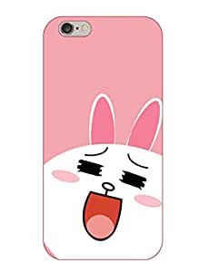 Happoz Apple Iphone 6 / 6S Cases Back Cover Mobile Pouches Shell Hard Plastic Graphic Armour Premium Printed Designer Cartoon Girl 3D Funky Fancy Slim Graffiti Imported Cute Colurful Stylish Boys D326