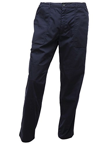 Image of Regatta Mens Action Trousers - Colour: Navy, Length: R, Size: 34