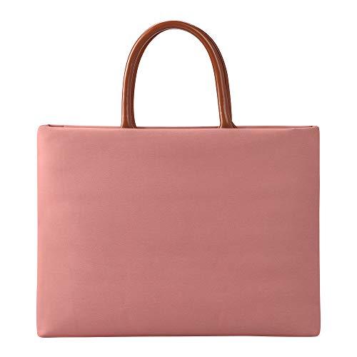 AYEN Laptop-Tasche, wasserdichte Laptop-Tasche mit multifunktionaler, tragbarer Aktentasche (13-15 Zoll universal)-Pink