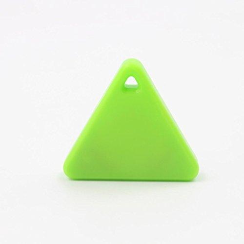 Xshuai Mini Bluetooth Smart Tag Tracker Haustier Kind Brieftasche Key Finder GPS Locator Alarm (Grün)