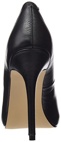 Pleaser - Amuse-20, Scarpe con plateau Donna Nero (Blk Leather)