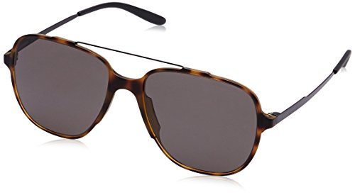 Carrera Herren 119/S NR L2L Sonnenbrille, Schwarz (Havana Mtblack/Brown Grey), 55