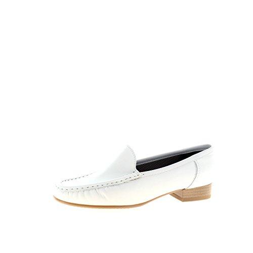 Jenny Atlanta, Mocassins (loafers) femme Blanc - weiss Weite G
