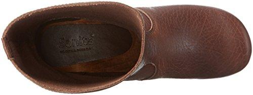 Sanita - Puk Boot, Stivali a metà polpaccio non imbottiti Donna Marrone (Braun (Antique Brown 78))