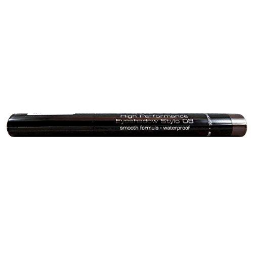 Artdeco High Performance Eyeshadow Stylo, Farbe Nr. 08, benefit silver-grey, 1er Pack (1 x 1 Stück)