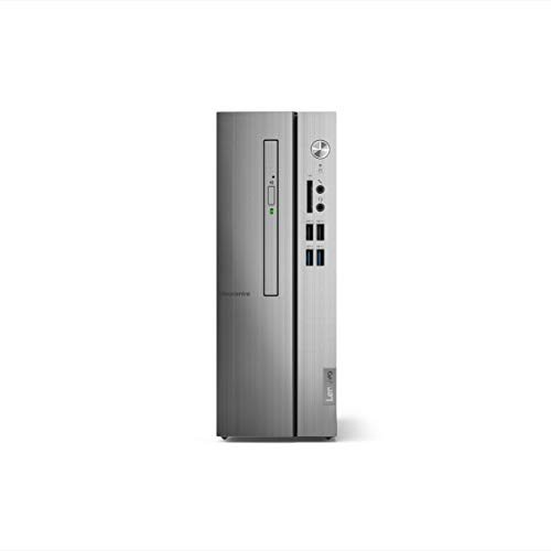 Lenovo Ideacentre 510S 90K8000XIN Tower Desktop (8th Gen Core i3-8100/4GB/1TB HDD/Windows 10 Home/Integrated Graphics), Warm Silver