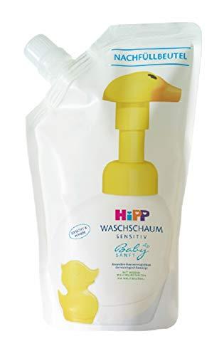 Babysanft / Mamasanft Hipp  Babysanft  Waschschaum Nachfüller, 6er Pack(6 x 250 milliliters)