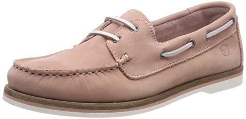 Tamaris Damen 1-1-23616-22 540 Sneaker, Pink (Lt. Pink Nubuc 540), 42 EU