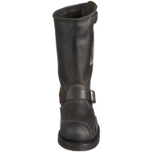 Sendra Boots Legend, Herren Bikerboot / Stiefel Schwarz