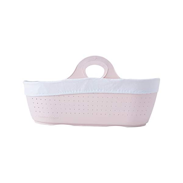Tommee Tippee Sleepee Baby Moses Basket and Rocking Stand Pink Tommee Tippee Safe, modern, portable baby moses basket, perfect to keep your newborn baby nearby as they sleep, day or night. your sleepee moses basket comes with complete with mattress, liner and rocking stand. Choose static or rocking position, the curved base on the stand allows you to gently rock your baby to sleep and features adjustable safety stops to give you the option of rocking or keeping it still. Easy to clean, the sleepee moses basket can be cleaned with warm soapy water. the water-resistant mattress cover is wipe clean and machine washable. the 100 % cotton liner is machine washable. 6