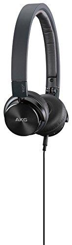 AKG BT Mini Stereo On-Ear Kopfhörer (Wireless Bluetooth, NFC, aufladbarer, abnehmbarem Audiokabel, integrierter Lautstärkeregelung/Mikrofon, geeignet für Apple iOS/Android Geräten) schwarz - 5