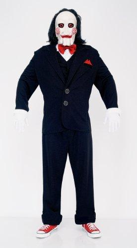 Imagen de saw jigsaw puppet adult costume, medium, chest 42  44