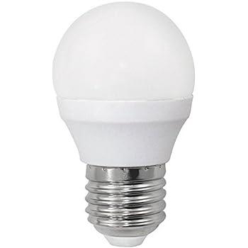 Bombilla LED esférica 6W (equivalente a 40W) Luz calida (3000K) no dimmable