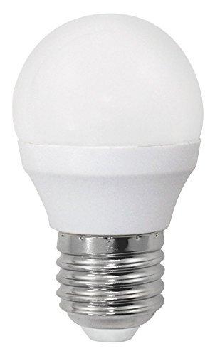Bombilla LED esférica 6W equivalente 40W Luz neutra