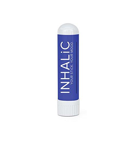 Inalatore nasale stick rilassante INHALiC Relax & Sleep | Aromaterapia per rilassarsi, dormire meglio | 2x 1.5 ml | Rimedio naturale contro dolori mestruali | Con oli essenziali di lavanda e finocchio