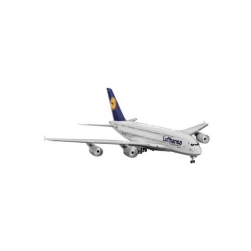 Revell - Revell - 04270 - Airbus A 380 Lufthansa - Model Kit 1:144 - REVE04270 (Revell Model Kits 144 1)