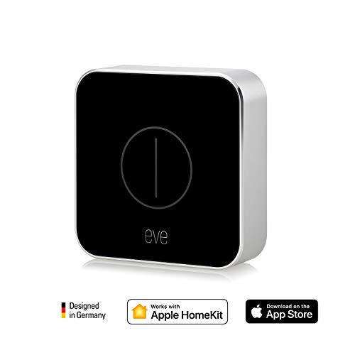 Eve Button - Smarte Fernbedienung zur direkten Steuerung von HomeKit-Geräten & Szenen (Deutsche Markenqualität), kompakt, portabel, Bluetooth Low Energy (Apple HomeKit) -