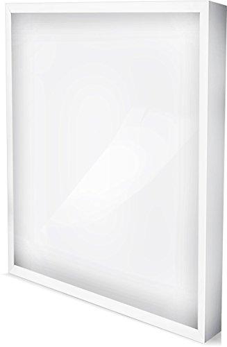 LED Aufbauleuchte Deckenleuchte rechteckig 50 W | 4000 Lumen kaltweiß (6500 K)