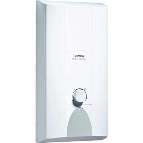Siemens DE4152427 Durchlauferhitzer Electronic Comfort (CLICKFIX Plus Montagetechnik, druckfest,) weiß/grau