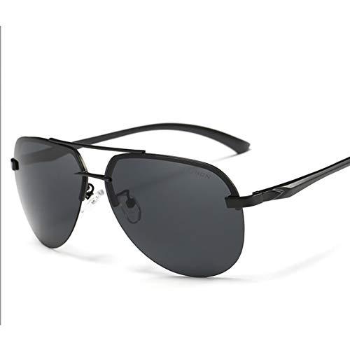 Polarisierte Sonnenbrille AORON Classic, Sonnenbrille Für Herren Und Damen, Aluminium-Magnesium-Legierung, UV-Schutz, Für Das Fahren Geeignet, Für Den Außenbereich,Blackgray